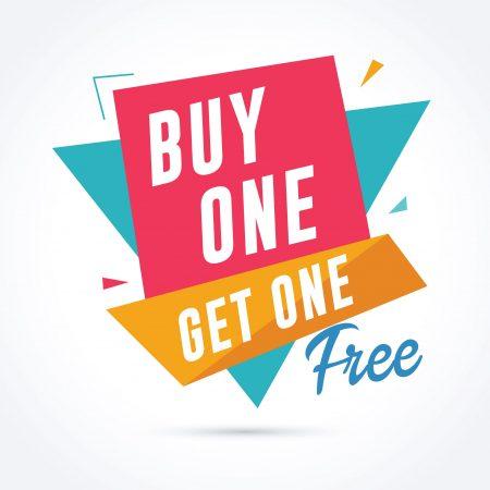 Buy1 Get 1 FREE
